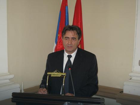Gradonačelnik Kruševca Dragi Nestorović - foto credit RAS