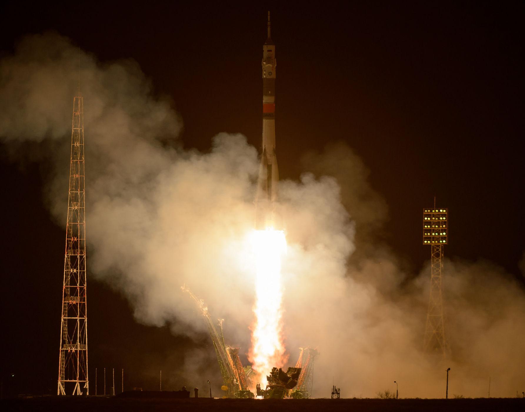 Lansiranje rakete Soyuz u okviru misije 50/51 - foto NASA