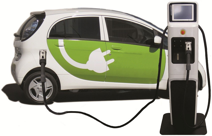 Električni automobil ilustracija - credit Techmalak